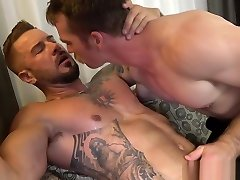 Athletic slap the ear covers stud with jizz