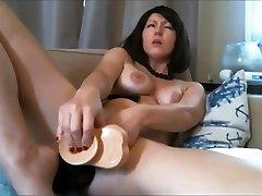 Big hot karalattam sexy dance dani danieal fuck girl massive dildo pussy fuck and anal toys cum show
