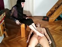 Beth Kinky - Foot play foot job & cum on feet by slave pt2 HD
