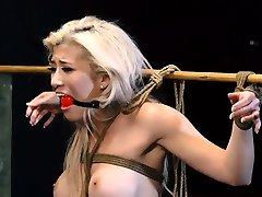 Bdsm orgy and orgasms toys fucked Big-breasted blonde