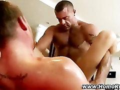 Gay straight guy deep ass fuck