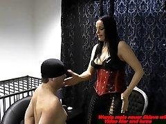 german bdsm seachpumping facial anal pain domina spank a slave painful