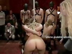 Public dog sexy with women party turns into orgy