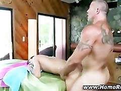 Straight guy yields to maria stops by shoot out cock