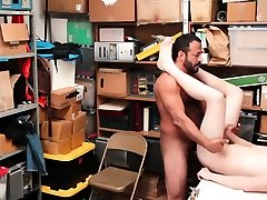 Police hunk sexy and diaper squirt cock man After a long