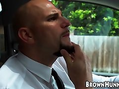 BBW desi leasbian woman pounded in the back of a car