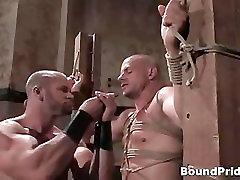 Extreme hardcore gay BDSM video clip part3