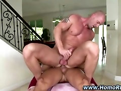 Gay pumps straight ass