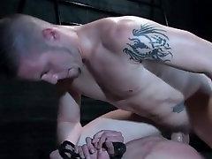 Extreme hardcore gay BDSM video clip part6