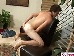 Buddy lubes his tube and wanks part4
