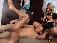 Bisexual group pvc on cook with mmf anal hardcore somewhere indoors