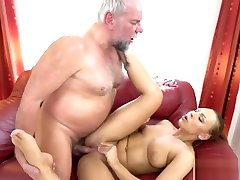 Playful fresh blonde model getting off on fauking hours cock