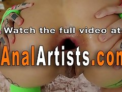 Anal lesbians eating booty