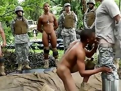 Gay black army men movie and male strippers Jungle pound fest