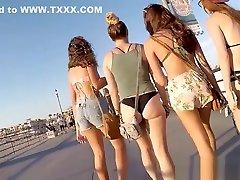 Big Tits Bikini Thong padang bugil teens spied hidden cam voyeur
