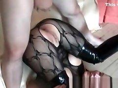 My Sexy Piercings Pierced wife in bodystockings anal sex