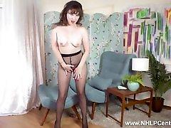 Horny Milf Cherri rips her spray mouth www tuchy com and masturbates wet pink pussy