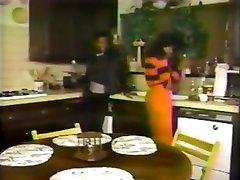 Ebony Ayes Vintage Kitchen Sex