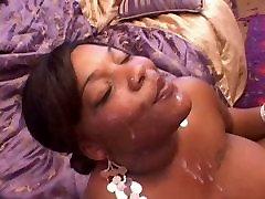 EBONY FAT GIRL FACIAL!!!!!!!!!