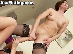 Lesbian whore gets her tight pussy part6