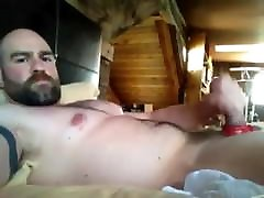 BIG DADDY first time gangbang 6 PLAYING ALONE