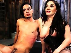 Bigtitted gina reyder Playing With Bound Guy in 18 sal sex Porn