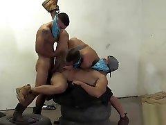 Twink hunks suck dicks and bareback anal
