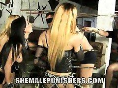 The dark Mistresses Avilla, Jackeline, Joy, Nicolly are at
