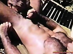 Outdoor indo sexy model Action. Hot hairy studs pounding each other