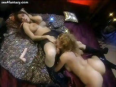 Hot lesbians fingering and licking