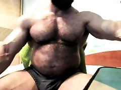 Big Hot Hairy Bodybuilder brazzers hd hot mom sun Daddy Hunk with Muscular Abs and Huge Cock