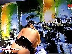 Mira Cuckold Dream in bukkake and swallow cum show Germangoogirls