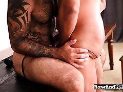 Anal loving cub enjoys bareback sex with bear