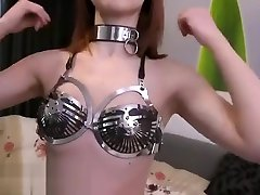 PLAY NOW bluemovxxx com Chastitybabes Donna The Carrara Chastity Bra