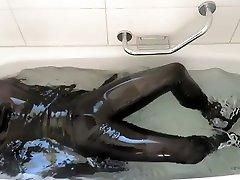 rubber bath