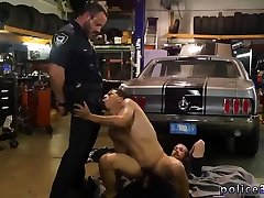 Gay cop stripper Get screwed by the police