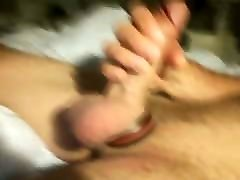 Masturbing and cumshot 17