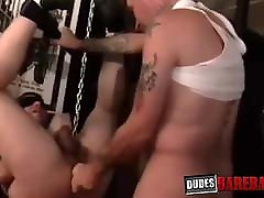 Kinky gay loves dominated and railed raw until he cums