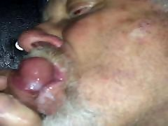 male glory hole sucking a nice cock to cum