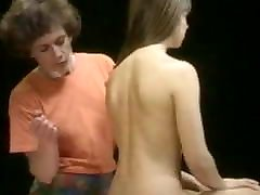 Massage ENF embarrassed nude female
