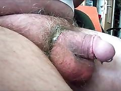 105 Mature Man, his striped Bulge and Cockplay