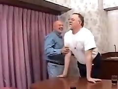 Older Mature Threesome Gay