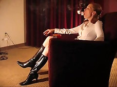 Monica redhead anty dashi in boots sexy