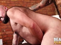 BEARFILMS cuckold wife creampied in public Silien Bottoms For Hunk Dick After Blowjob