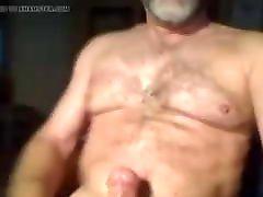 older guy jerking 2