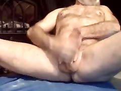 Big cock seach3anteel elm7la grandpa granddad wanking off and cumming