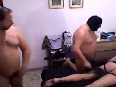 Spanking with a couple of Masters bears
