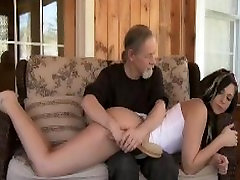 angela white screaming dakota sky fuck Sex Master Spanks Pretty Gal Over Knee and Paddles With Spoon