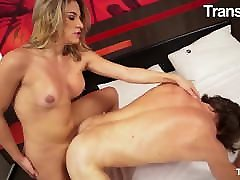 TRANSBELLA - Muscle Stud Enjoy Anal Sex With Luanna Pacheco