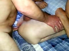 Chubby Daddy Pounding Arse